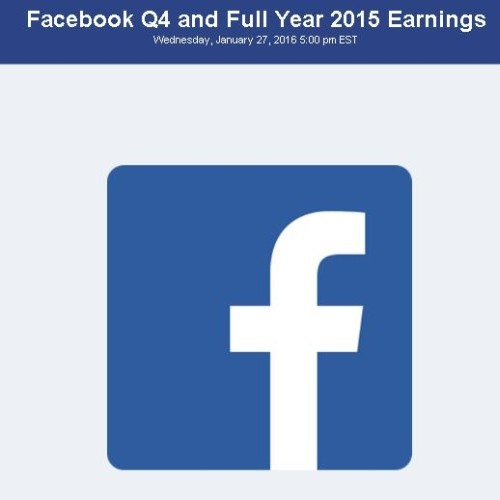 Facebook to Update on 2015 Results