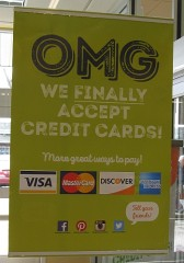 After decades of denial, Aldi has finally entered the 21st century to take credit cards (EMV even). What's next a payments app?